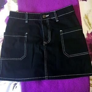 Forever 21 small Jean skirt